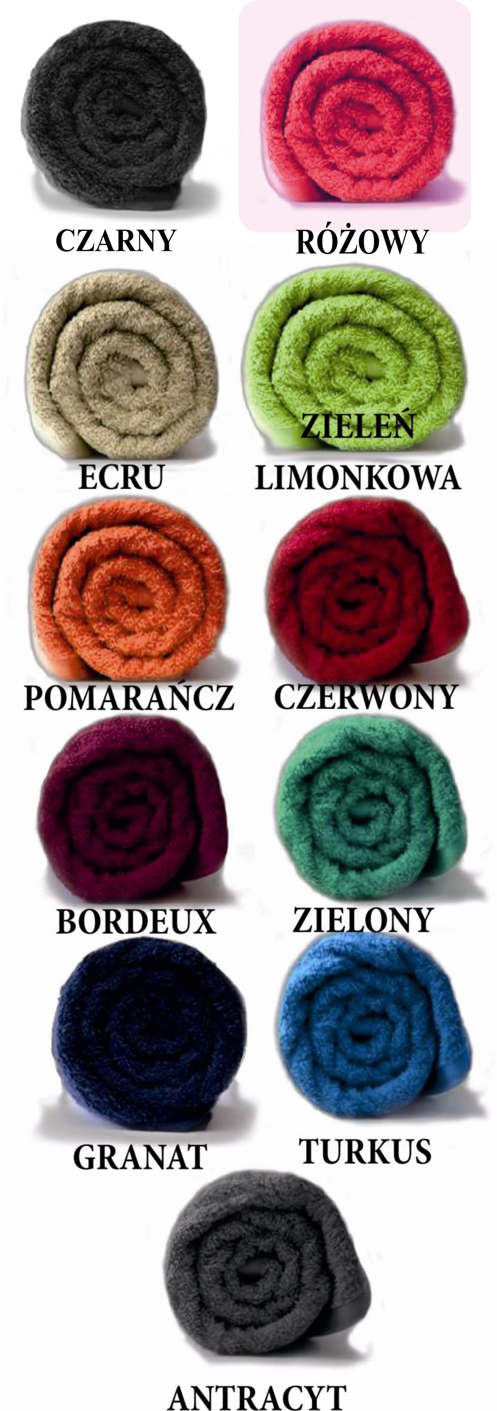 kolor reczników